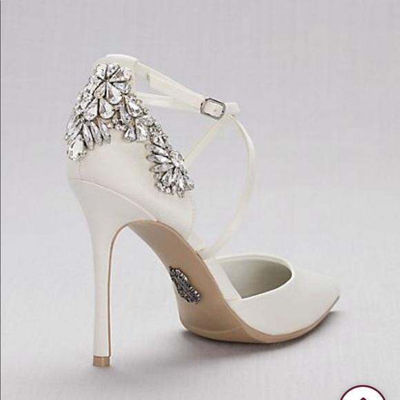 White By Vera Wang Bridal Heels 85